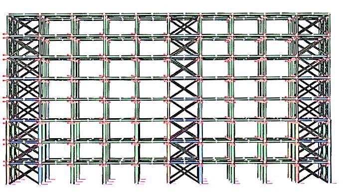 Analisi di multi-hazard di un edificio multipiano in acciaio