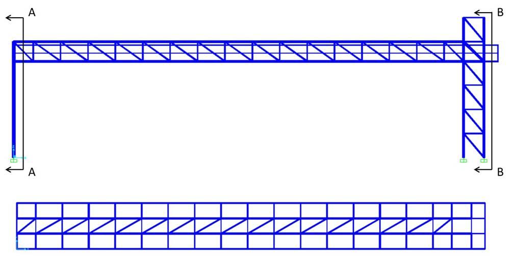 Progettazione e verifica di una passerella pedonale in acciaio