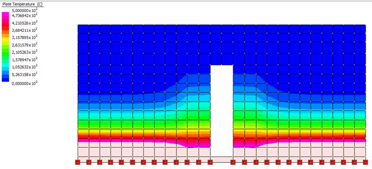 Analisi termiche di un solaio in latero-cemento in condizioni di incendio