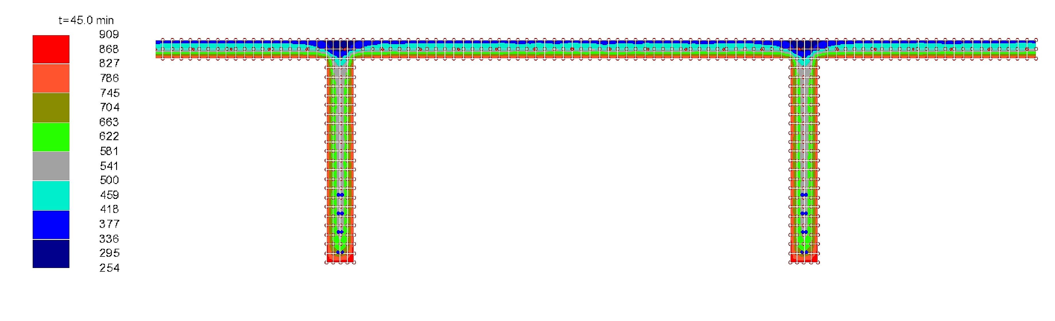 Analisi termica di un tegolo di copertura